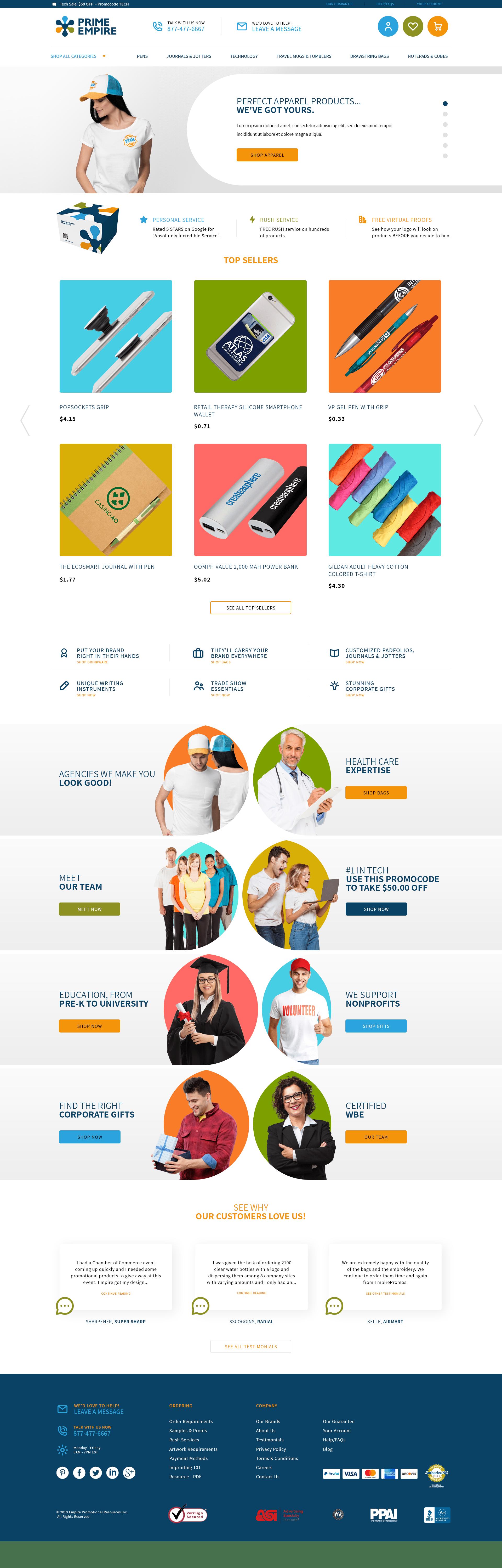 Big Commerce professional web design